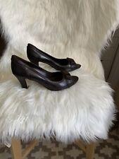 Shoes - Diana Ferrari Brown Size 9 1/2