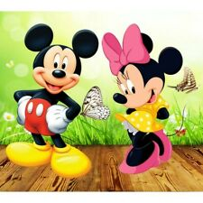 Diy 5D Diamond Mosaic Cross Stitich Gift Mouse Minnie Embroidery Decor Cartoon
