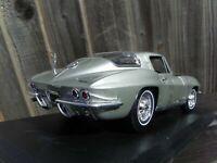 Maisto 1:18 1965 Space Silver Chevrolet Corvette V8 Neil Armstrong Car Toy USA