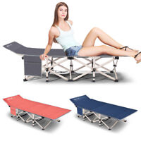 Single Size Folding Rollaway Guest Metal Bed With Mattress Foldaway