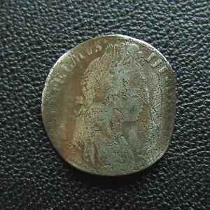 William III silver Sixpence Love token.