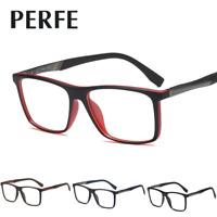 Men Women TR90 Frame Optical Glasses Square Clear Lens Myopia Glasses Frame New