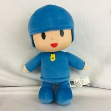 "10"" POCOYO Soft Plush Stuffed Doll Vinyl Head by Bandai"