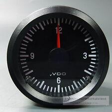 VDO cuarzo reloj-cronómetro, Electric Clock instrumento Cuadro de indicadores 12v 52mm