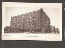 Vtg Postcard Hotel Euclid Cleveland Ohio OH O Early Undivided back Winton
