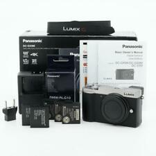 Panasonic Lumix G DC-GX9M Mirrorless Micro 4/3 Digital Camera (Silver)