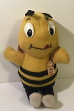 Vintage Plush Doll Advertising Ad Cereal Old Bumble Bee Honey Nut Cheerios