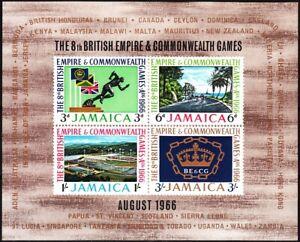 JAMAICA 1966 Sport: 8th British Empire & Commonwealth Games. Souvenir Sheet, MNH