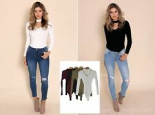 Long Sleeve Unbranded Hand-wash Only Solid Tops & Blouses for Women