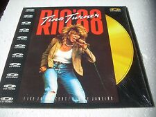 TINA TURNER  / RIO '88 LIVE Europe Laserdisc Pal version