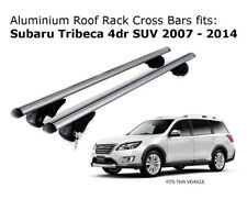 Aluminium Roof Rack Cross Bars fits Subaru Tribeca 2007-2014