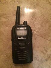 Kenwood ProTalk Xls 2 way Radio Walki-Talki Missing Talk Button