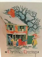 Vintage Art Volland Christmas Card
