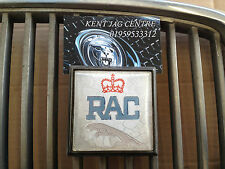 Jaguar Royal Automobile Club Front Grill Badge