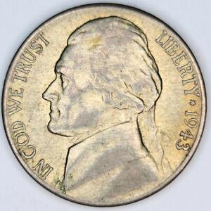 1943-S DDO SILVER Jefferson 5 Cent Nickel. San Francisco Mint  INCREDIBLE / RARE