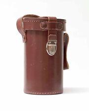 Objektiv Leder Köcher 12 x 6,5cm groß  Braun Nr.T.69
