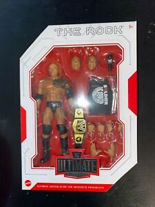 WWE Mattel The Rock Ultimate Edition Series #10 Figure RARE NEW IN HAND POPULAR