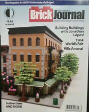 BRICK JOURNAL 1964 Worlds fair Villa Amanzi Building With Legos Aug 14 FREE SHIP
