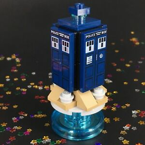 LEGO Dimensions UPGRADED Tardis Dr Who LEVEL Pack Micro Mini Build 71204 Time