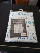 New In Packet Shower Curtain 180x180