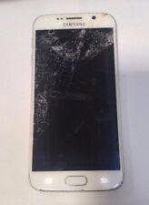 Samsung Galaxy S6 (SM-G920)White- Unknown Carrier  -Read Below