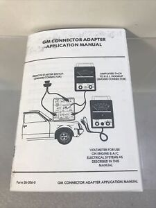 MAC Tools ET-1217  GM CONNECTOR ADAPTER  Manual only (copy)