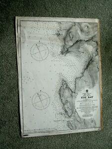 Vintage Admiralty Chart 3669 SCOTLAND - LOCH SNIZORT - UIG BAY 1907 edn