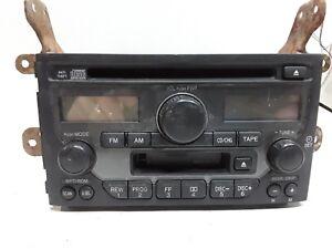 03 04 05 Honda Pilot AM FM CD cassette radio receiver OEM 39100-S9V-A300 1TV2