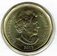 2013 Canadian  Brilliant Uncirculated Business Strike Loonie $1 Coin!