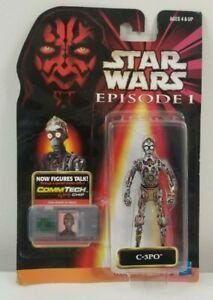 C-3PO Star Wars Hasbro EPISODE I Phantom Menace COMMTECH Chip
