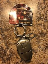 Iron Man Mask Metal Keychain Marvel Avengers Key Chain