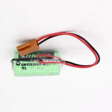 10pcs Sanyo 3V PLC CR17335SE-R Fanuc # A98L-0031-0012 W/Plug CR2/3A