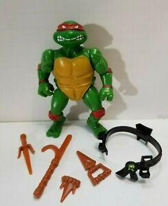 VERY NICE Teenage Mutant Ninja Turtles TMNT 1988 Soft Head Raphael Raph