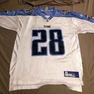 New NFL Tennessee Titans Reebok Chris Johnson # 28 Football Jersey  XL Mens