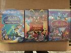 Aladdin Trilogy: Platinum Edition, King of Thieves, Return of Jafar New Sealed