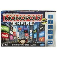 BRAND NEW HASBRO MONOPOLY EMPIRE BOARD GAME WITH NEW TOKENS- A4770- Ages 8+