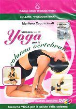 Videocorso di YOGA PER LA COLONNA VERTEBRALE in DVD
