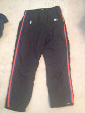CHARLES OAKLEY GAME USED NEW YORK KNICKS WARM UP PANTS VINTAGE