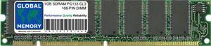 1GB PC133 133MHz 168-PIN Sdram Dimm Mémoire RAM pour Ordinateurs de