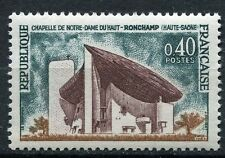 STAMP / TIMBRE FRANCE NEUF LUXE ** N° 1435 ** NOTRE DAME DU HAUT A RONCHAMP