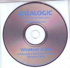 DATALOGIC WinHost 2.00 Configuration SW & User Manuals December 2004