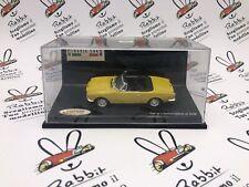 "Die Cast "" Fiat 124 Spider Yellow Chromo "" Vitesse Scale 1/43"