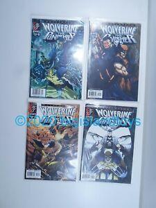 Marvel Comics Wolverine The Punisher Revelation 1 2 3 4 Full Set Run NM Knights