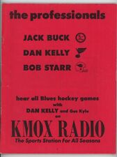 1972-73 St Louis Blues Game Program