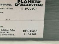 ATLAS EDITIONS HMS HOOD new and sealed BOXED