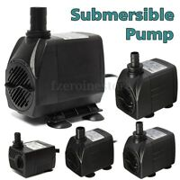 300/600/1000/1500/2500LPH Submersible Water Fountain Pump for Fish Tank Pond HOT