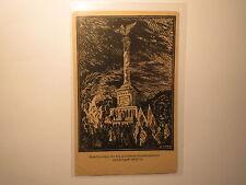 Denkmal gefallene Corpsstudenten - Krieg 1870/71 - KSCV / Karte Studentika