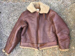 WW2 British Eastman Leather Jacket RAF 1940 Pattern Battle of Britain 44 Chest