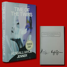 Time Of The Twins by Kendall & Kylie Jenner ( 2016,HC,1st/1st,New)with Signature