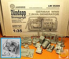 "1/35. Zundapp 7,5 kVA Stromaggregat, resin kit by ""Leadwarrior"" LW 35209"